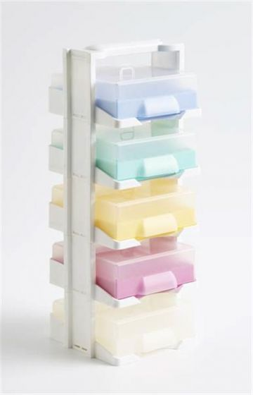Combi Pack 405 Sample Store - PP - Mixed filled with Maxicold Freezer Racks