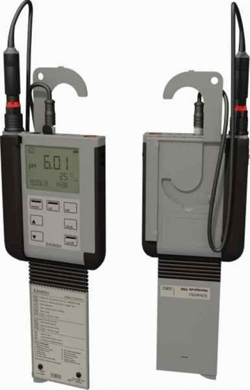 pH meter HandyLab 700 with AquaLine 90 pH probe, cable and DIN buffers