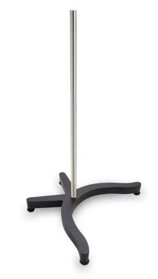 CLR-STRODC122 Support Stand with Rod Stainless Steel & Iron -camlab