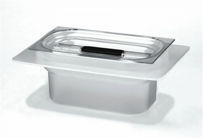 Acid Resistant Plastic Tub with plastic cover for C1800/H