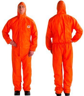 3M 4515 Orange Type 5/6 Coverall - Size XXL Pack of 20