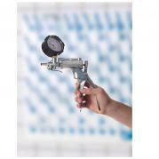 Vacuum/pressure pump aluminium with gauge 16ml Stroke-5620-2181-Camlab