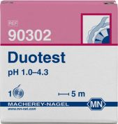 Machery Nagel DUOTEST pH 3.5 - 6.8 reel of 5m length. width: 10 mm from Camlab