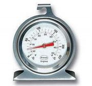 Stainless steel Oven Thermometer Dial C and F, 0 to 230°C