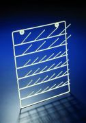Draining Rack PE Coated Steel 32 Peg