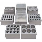 Stuart Aluminium Block 20x 13mm Tubes-Camlab