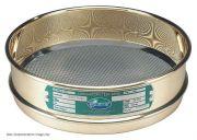 Sieve Brass 200mm Diameter 63 micron aperture-200BIW.063-Camlab