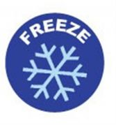 Camlab Plastics Tubee's Hazard Labels Freeze Pack of 500 from Camlab