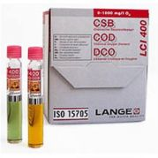 Hach LCI400 13mm COD Vials 0 to 1000mg/L ISO 15705 Pack of 25from camlab