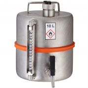 Range S - Drum with tap at the bottom and level control 15 litres-S10FVSJ-Camlab