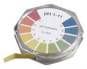 Camlab pH 1-11 Universal Indicator Paper 7mm x 5m