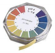 Camlab pH 1-14 Universal Indicator Paper 7mm x 5m
