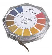 Camlab pH 0.5-5.0 Universal Indicator Paper 7mm x 5m