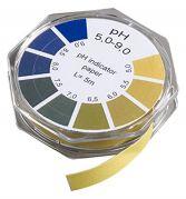 Camlab pH 5.5-9.0 Universal Indicator Paper 7mm x 5m
