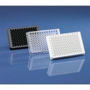 BRANDplates 96 inertGrade PS black transp. bottom sterile Pack of 50-781911-Camlab