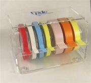 Benchtop Label Tape Dispenser For Multiple Tapes with 7.6cm (3 Inch) Core