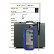 Hanna-Reference thermometer with 5 point UKAS calibration certificate-camlab