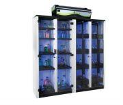 Captair 1634 Smart storage cabinet 1x5 spill proof shelves-1xpull out door