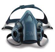 3M™ 7501 Silicone Half Mask - Small-camlab