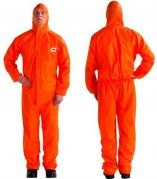 3M 4515 Orange Type 5/6 Coverall - Size XXXXL Pack of 20-camlab