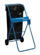 6155 KIMBERLY-CLARK PROFESSIONAL Mobile Stand Wiper Dispenser - Large Roll - Blue