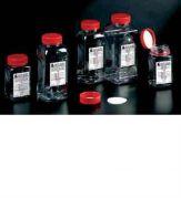 Wide Mouth Sterile Water Sampling Bottles - square, PET-camlab