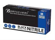 Bodyguards Black Powder Free Nitrile Gloves AQL 1.5-camlab