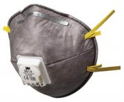 9914 Cup-Shaped Valved Dust/Mist/Nuisance Odour Respirator FFP1--Camlab