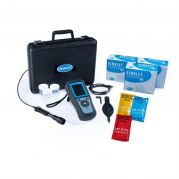 Hach HQ2100 Portable pH/EC/TDS/DO Meter kit with Gel pH Electrode PHC20101, 1 m Cable-LEV015.98.21001-Camlab