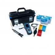 Hach HQ2100 Portable pH/EC/TDS/DO Meter kit with Rugged Gel pH Electrode PHC10105, 5 m Cable-LEV015.98.21003-Camlab