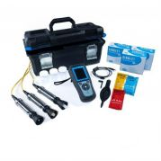 Hach HQ4300 Portable Multi Meter kit with rugged  Gel pH , conductivity and DO electrodes -LEV015.98.43002-Camlab