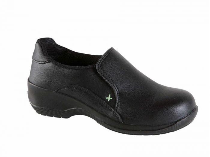 2500 Toesavers Black Ladies Safety Shoes