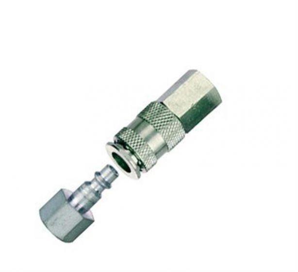 "CEJN 95 3/8"" BSP Female Socket and Plug Hose Coupling Set - Pack of 3-camlab"