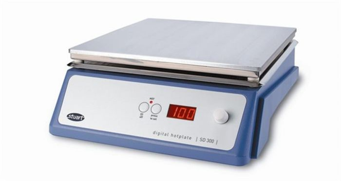 Stuart Digital Hotplate Aluminium Top plate SD500 500x300mm-SD500-Camlab