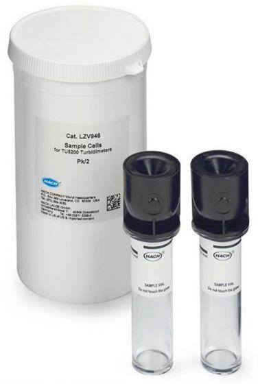Hach - Sample Vials for TU5200 Benchtop Laser Turbidimeter pack of 2-Camlab