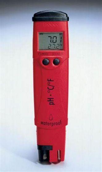 Waterproof Pocket pH Temp pHep Stick Meters