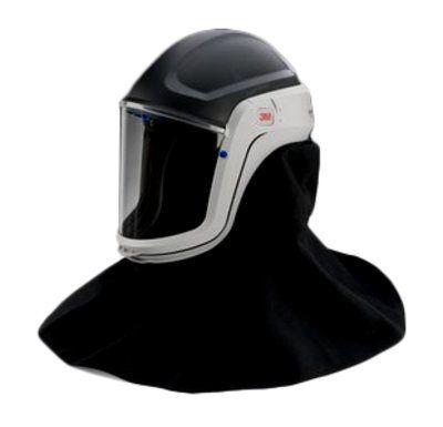 3M Versaflo M-407 Respiratory Helmet with Visor & Flame Resistant Shroud - Pack of 1
