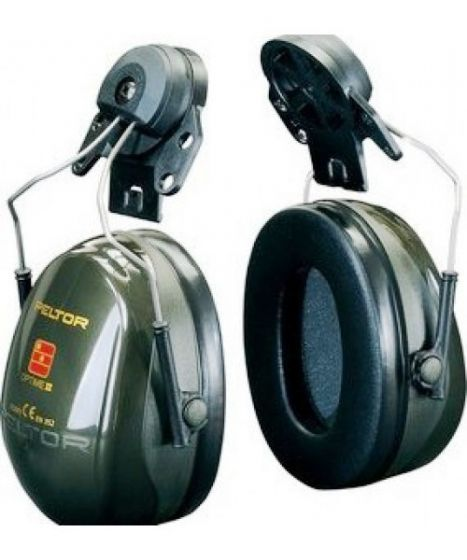 PELTOR Optime II Ear Muff Helmet Attachment Green Pack of 20