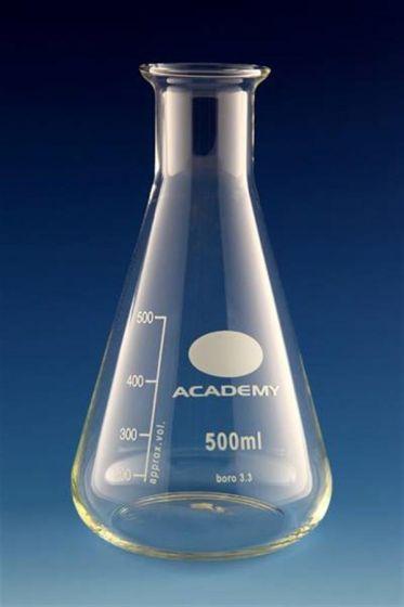 Glass Conical Flask 500ml Academy / Bomex (each)