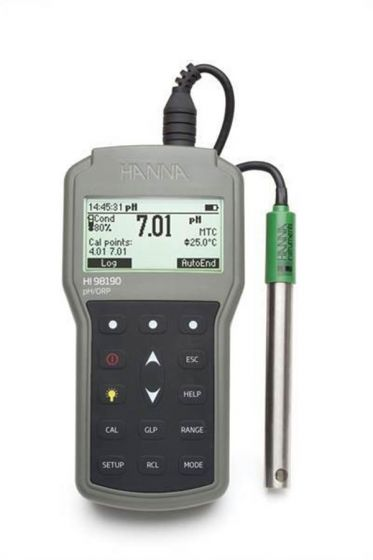 Professional Waterproof pH/ORP and temperature meter