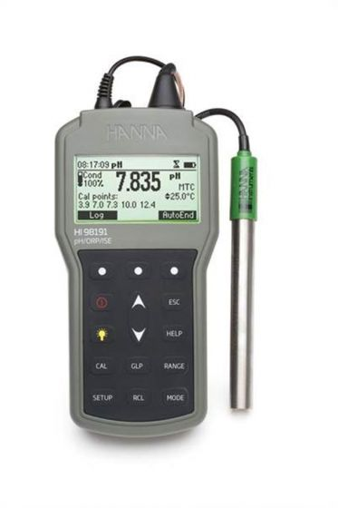 Professional Waterproof pH/ORP/ISE and temperature meter