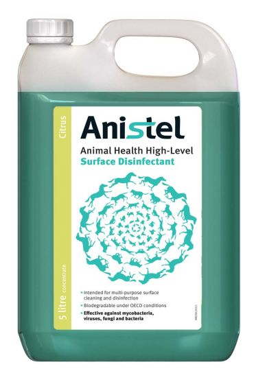 TR106 Anistel Surface Disinfectant Concentrate 5L - Citrus