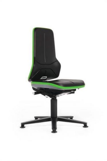 Neon 1 Laboratory chair with glides