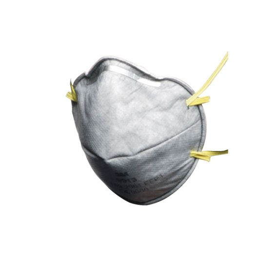 3M 9913 FFP1 Cup-Shaped Unvalved Dust/Mist/Nuisance Odour Respirator - Pack of 20