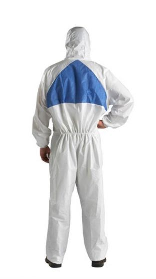 4540+ Coverall White+Blue Type 5/6 Size XXL Pack of 20-4540W2XL-Camlab