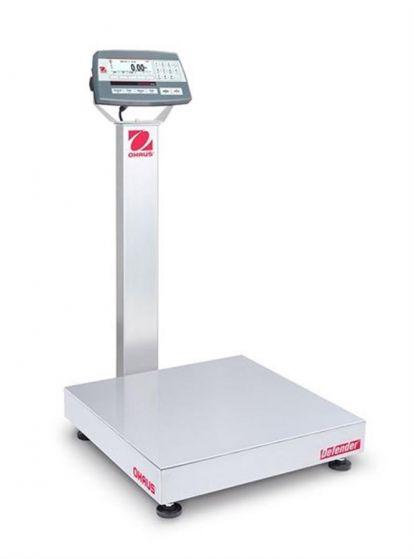 Ohaus 30461551 Defender 5000 Platform Scale Capacity 60kg/150kg Readability 20g/50g M cert-camlab