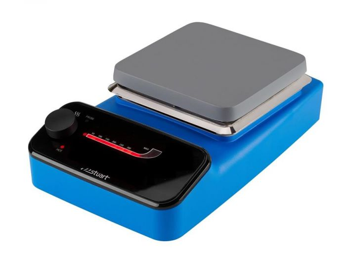 Stuart Analogue Aluminium Top Hotplate Blue