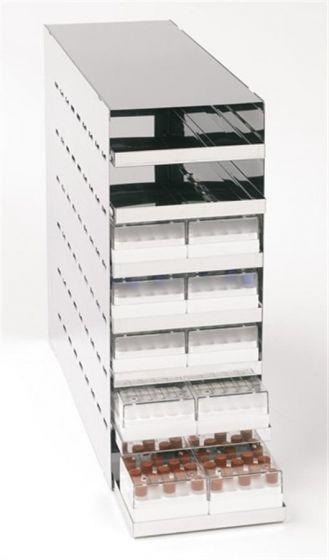 Chest Rack 25 Tube Box 7 Shelf & Tray