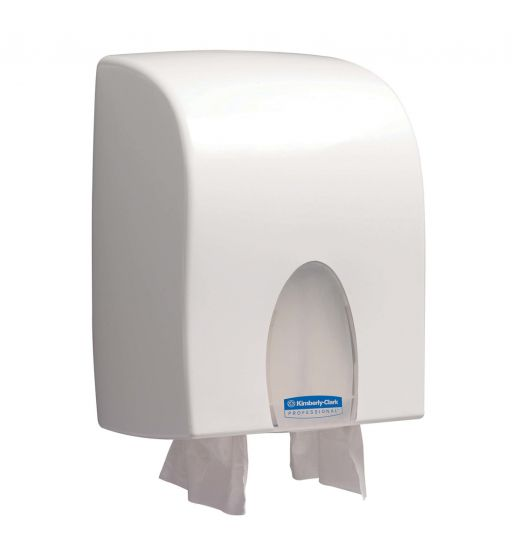 9962 KIMBERLY-CLARK PROFESSIONAL Folded Hand Towel Dispenser - Interleaved - White