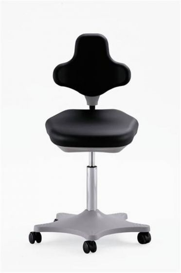 ESD Labster 2 anti static lab chair, black integral foam upholstery